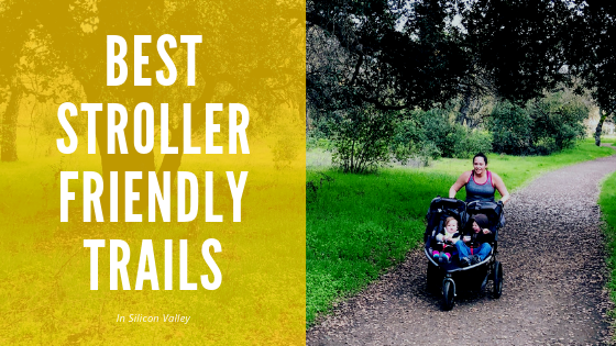 Discover trails all around the Silicon Valley to run or walk with your stroller.