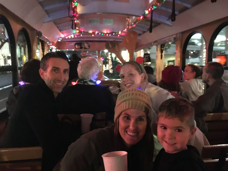 Santa Barbara Lights Trolley Tour