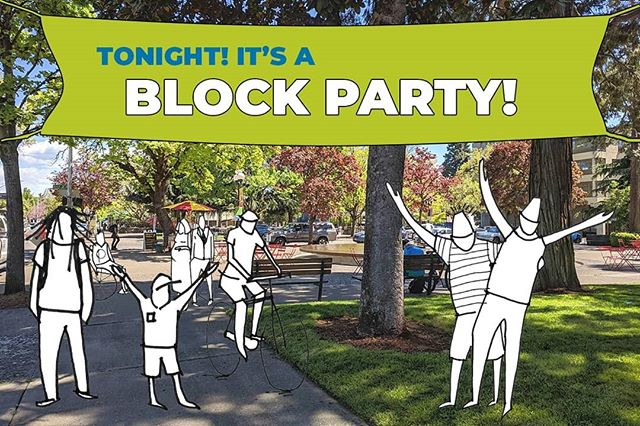 It's TONIGHT! 😊 We'll be in the Park Blocks at 8th and Oak from 5-9PM! We've got quite the crew joining us tonight to make this Block Party SUPER AWESOME! Ready for the lineup? *drum roll please* . We've got outdoor yoga with Stop Drop and Yoga at 5:30, dance performance by Xcape Dance Academy at 6:30, DJ Foodstamp will be Live DJ-ing, design conversations by your project team, beer and cider garden by Wildcraft and Manifest Brewing, food trucks by Irie Jamaican Kitchen and Sling-in Weiner, and FREE shaved ice by Kona Ice!! Come join us for a GREAT evening of fun for all ages! . #letsdesignets #eugenetownsquare #eugparkblocks #blockparty #cityofeugene #getinvolved #oregon #eugeneoregon #downtown