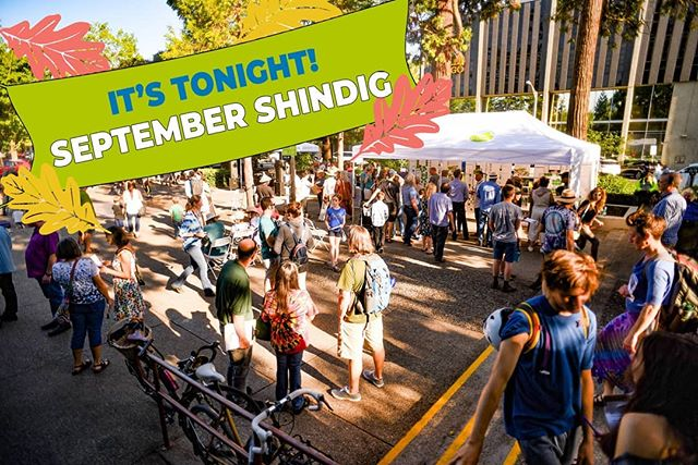 It's TONIGHT!! September Shindig will be in the Park Blocks from 4:30-7:30 pm! Join us for food, activities, music, performances, and the unveiling of the draft final concept of Eugene Town Square!! See you soon 😁 . Photo by Christopher Trotchie . #letsdesignets #eugenetownsquare #eugparkblocks #cityofeugene #getinvolved #oregon #eugeneoregon #downtown #september #shindig