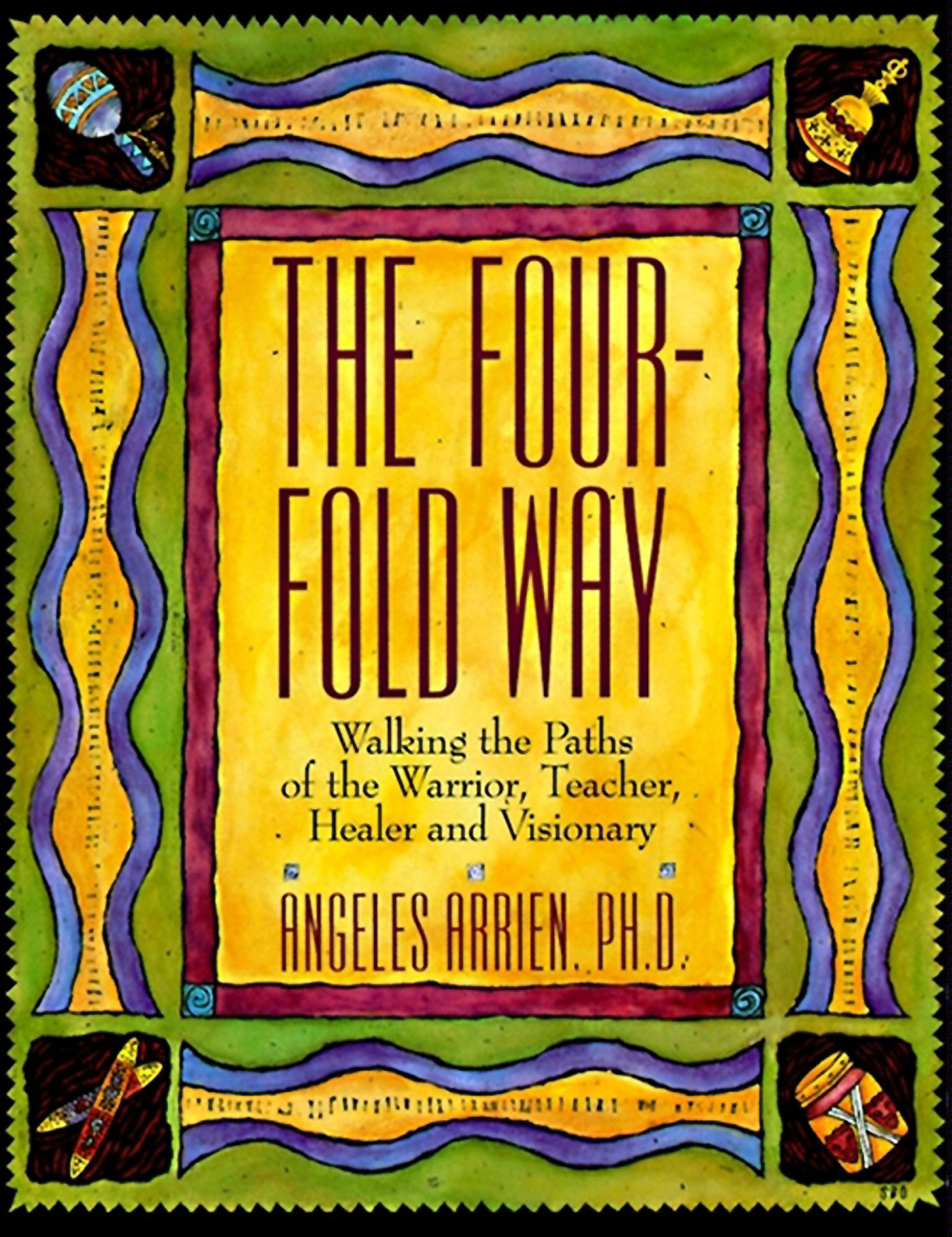 Angeles Arrien is a deceased anthropologist whose talks and work I am curious about. Her Ted Talk gave me an all new awareness of myself. This book explains one of her primary concepts of the Spiritual Human Journey.