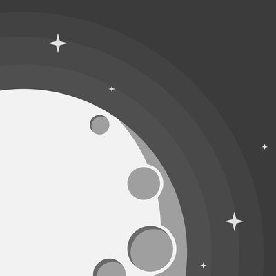 Moon by Charlie Deets  A simple app, Moon is the only one I use regularly to know the moon's exact illumination and day during its cycle. It will tell you via % how illuminated the moon is, and it even sends you cute little Moon Alerts to your mobile phone.