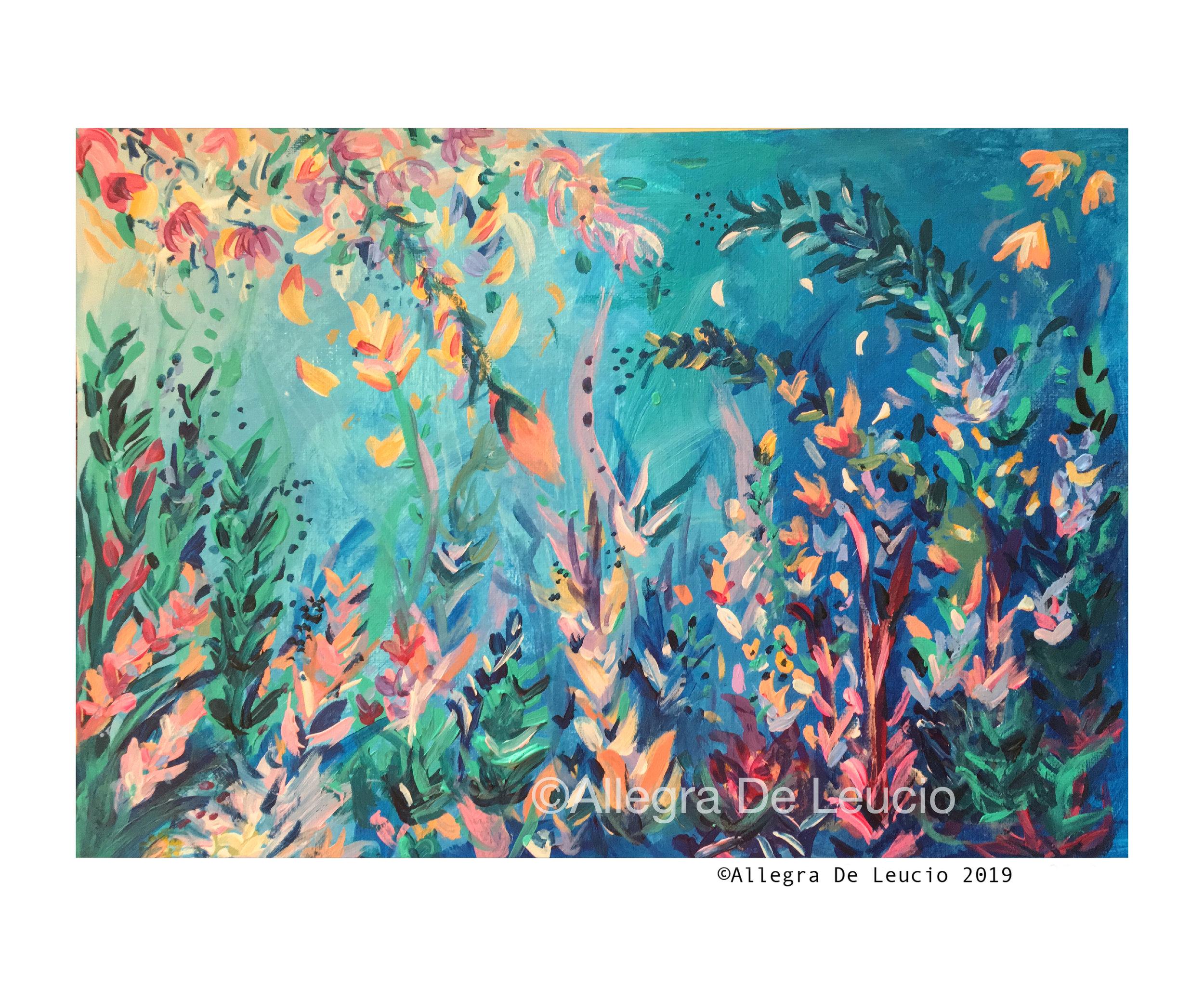 Botanical Tranquility #1