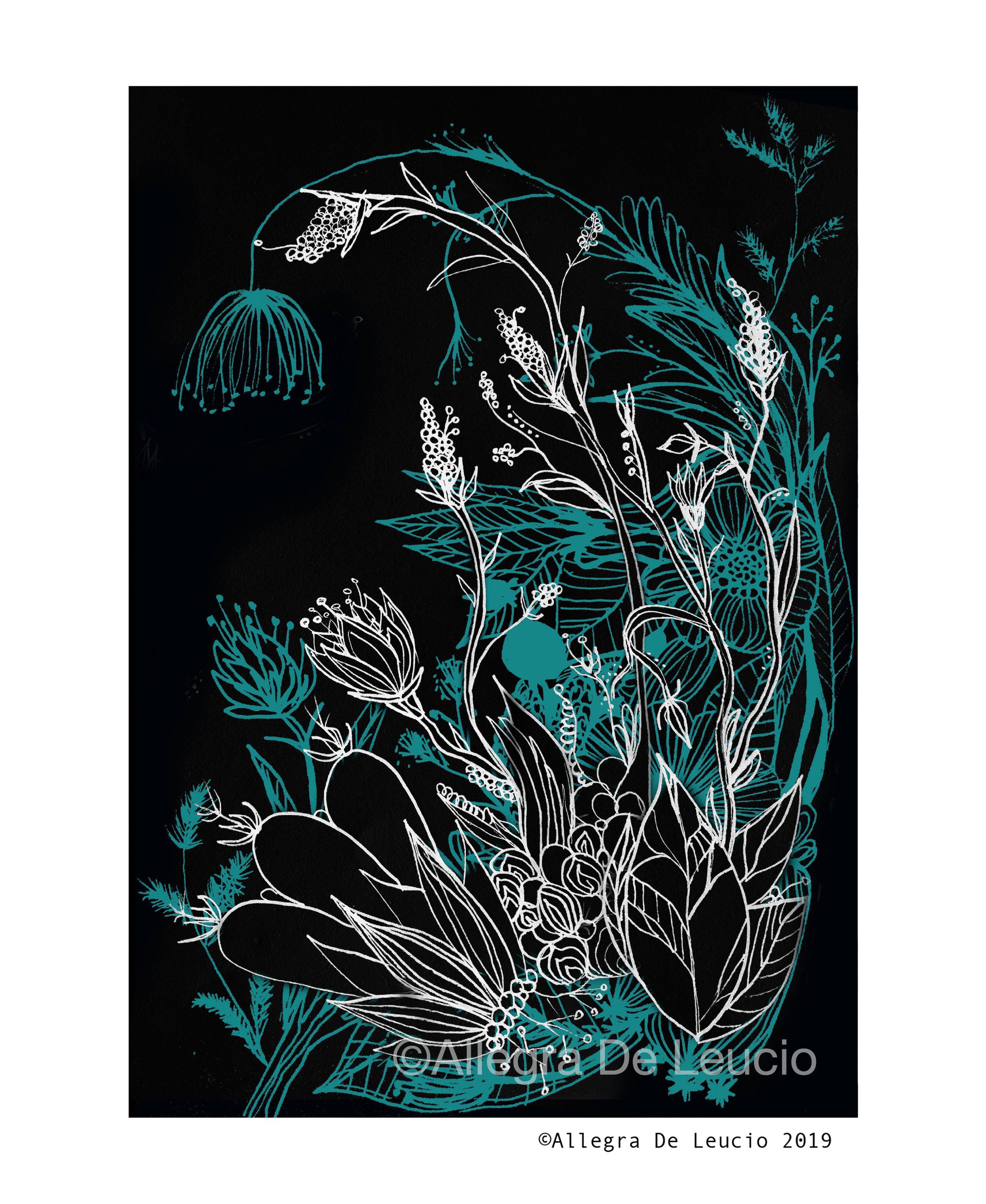 Botanical Tranquility - design #3