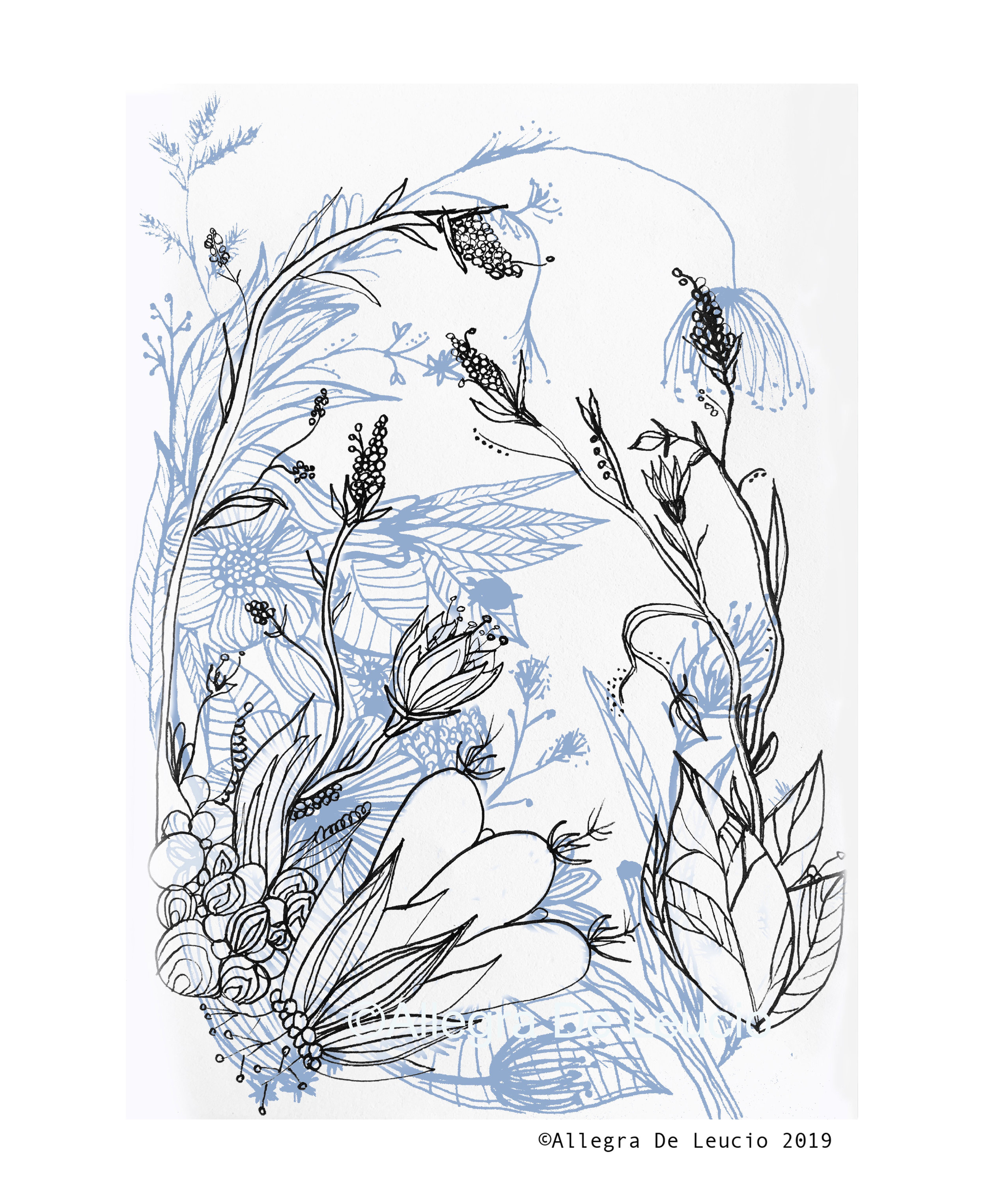 Botanical Tranquility - design #4