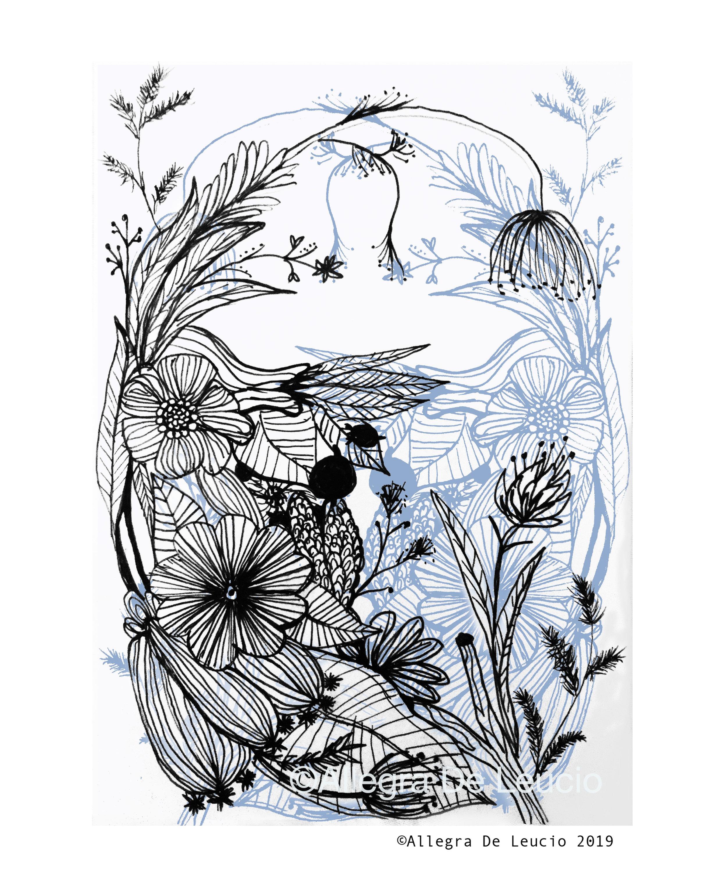 Botanical Tranquility - design #5