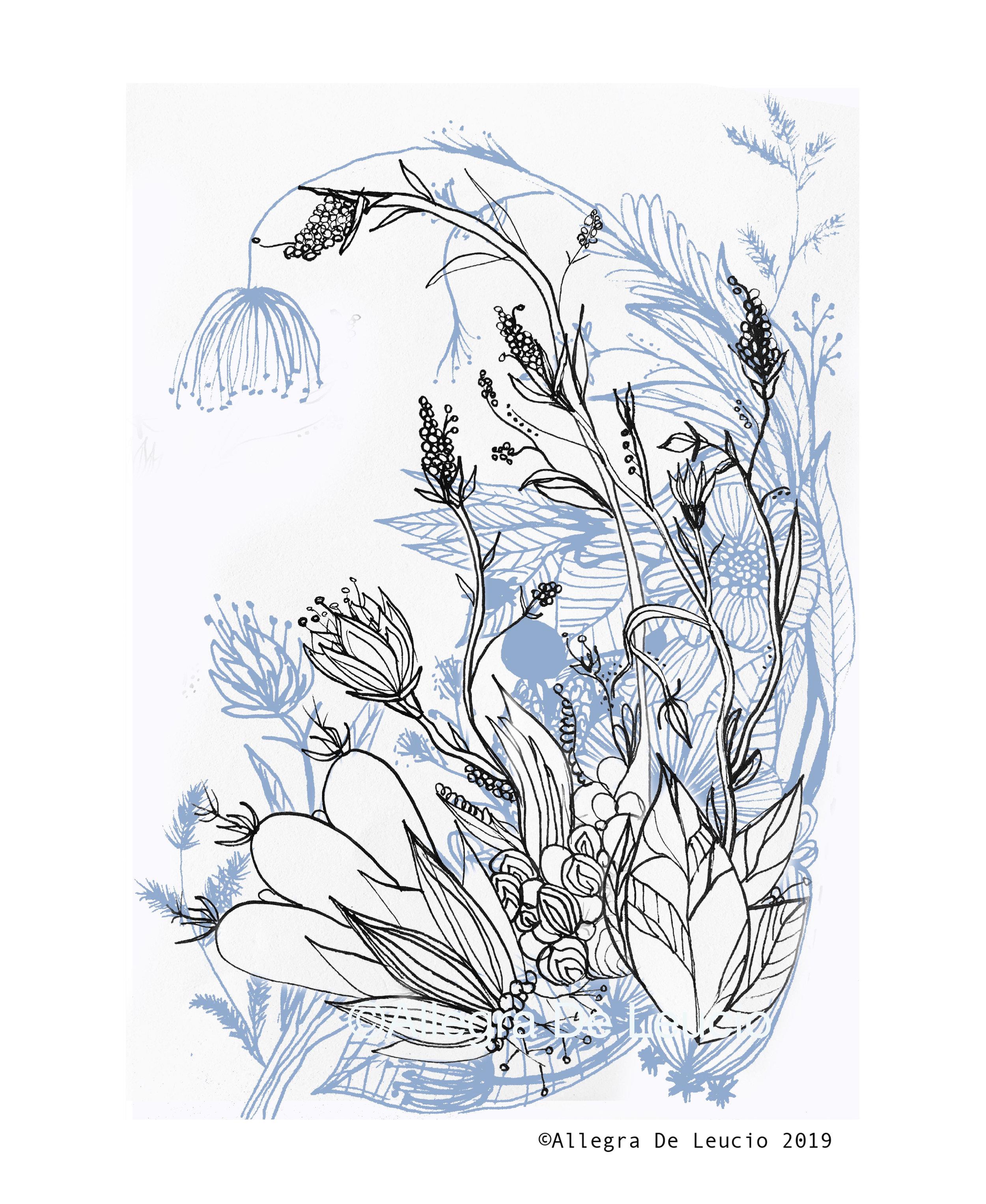 Botanical Tranquility - design #6