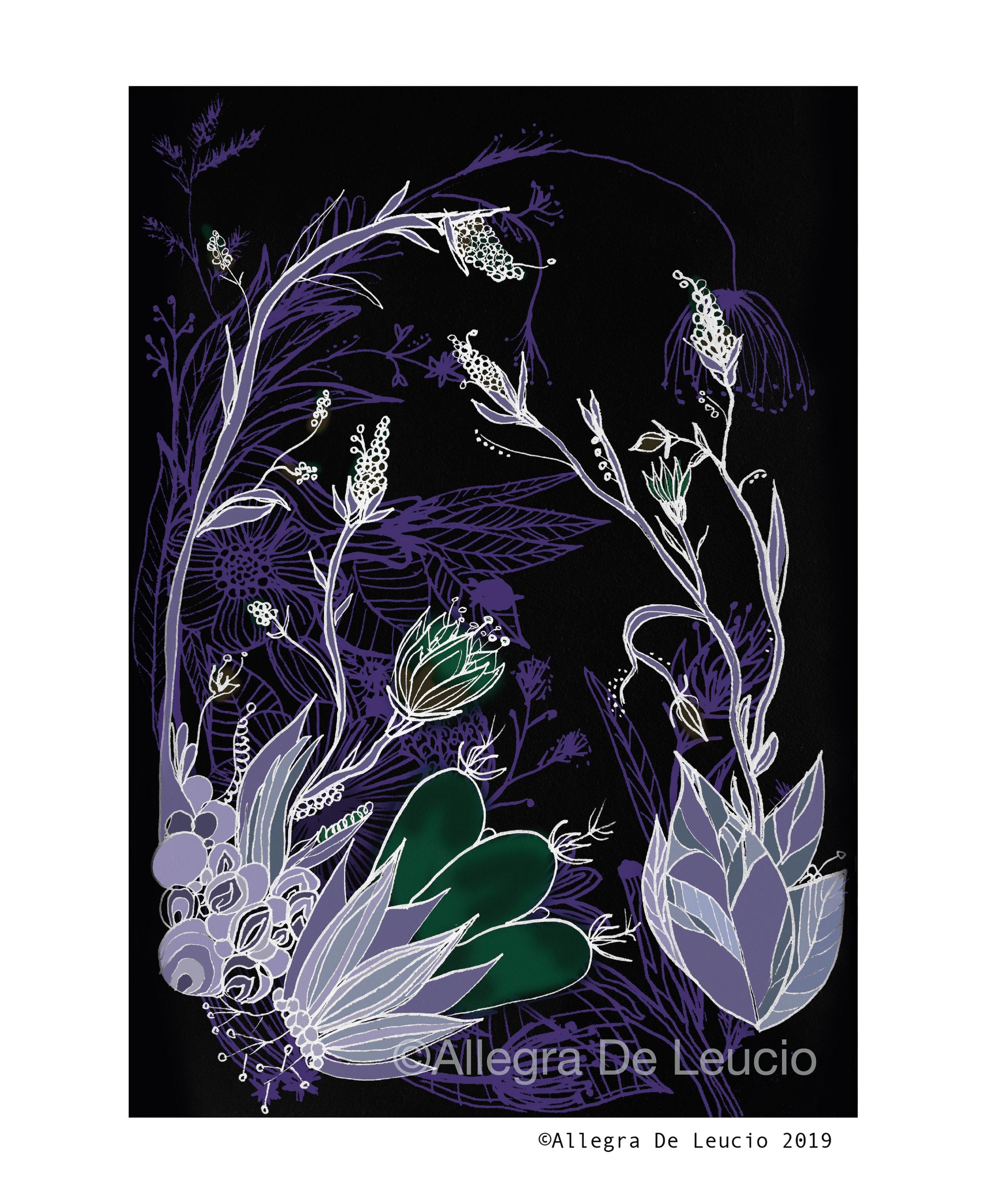 Botanical Tranquility - design #7