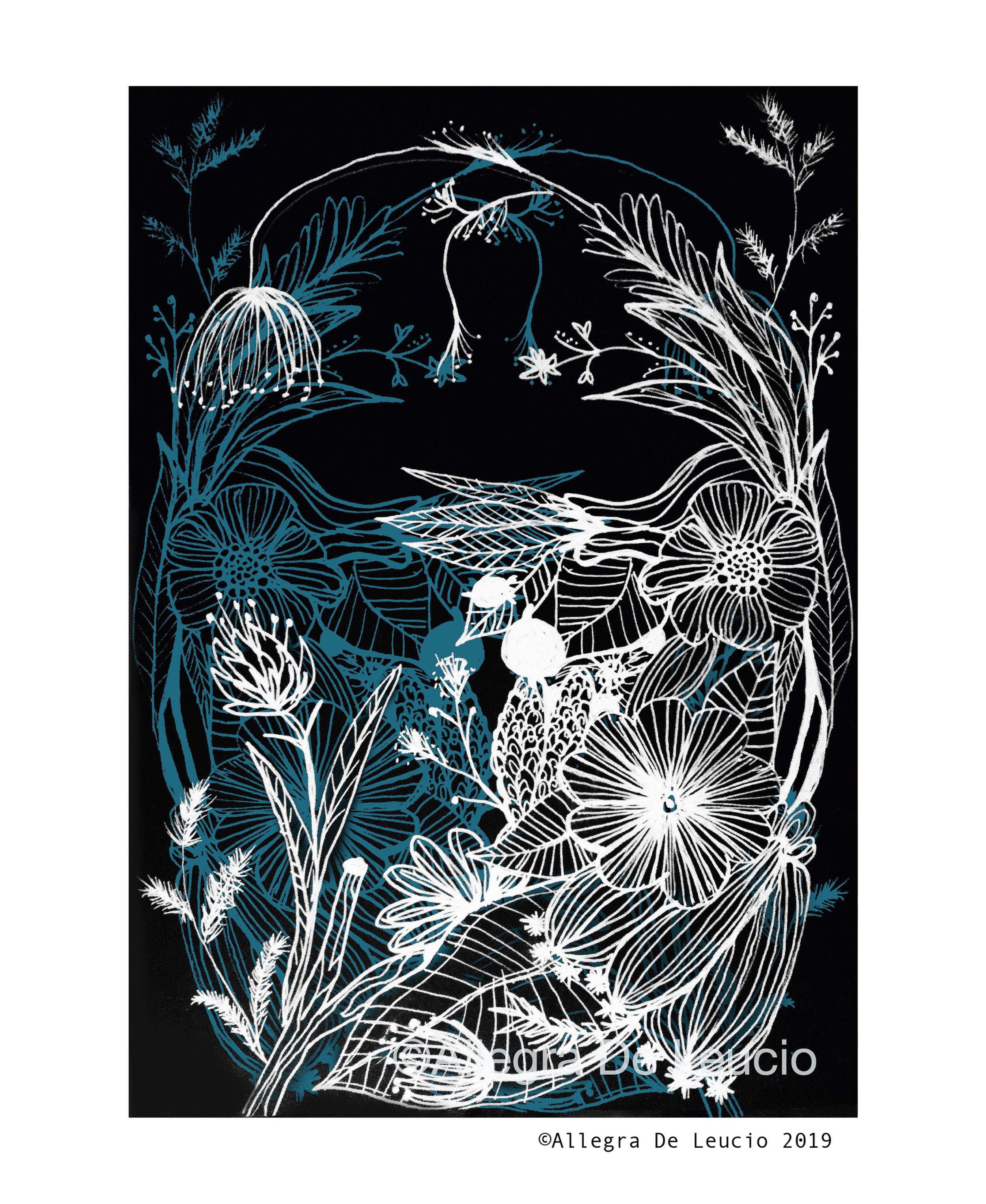 Botanical Tranquility - design #8