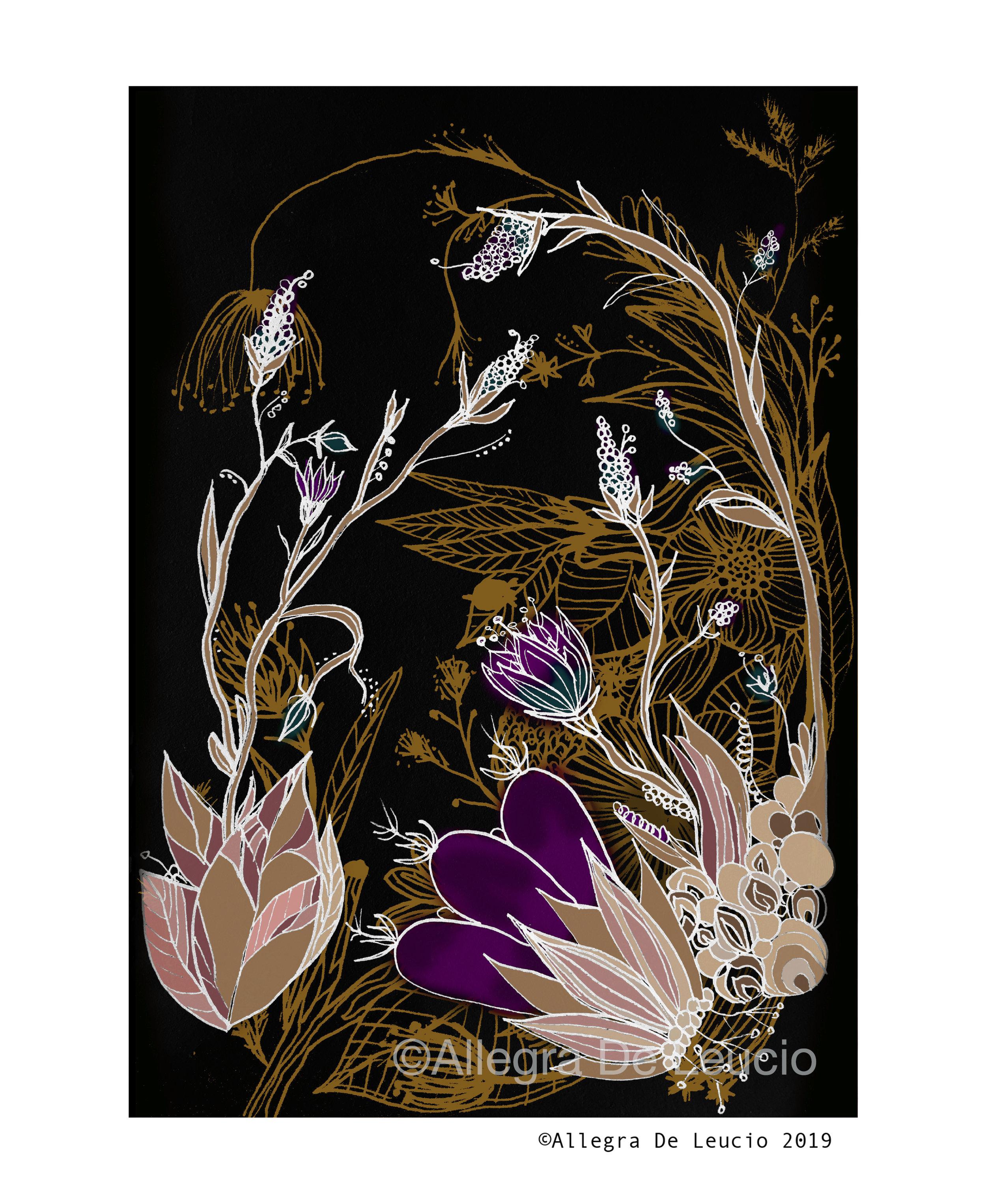 Botanical Tranquility - design #9
