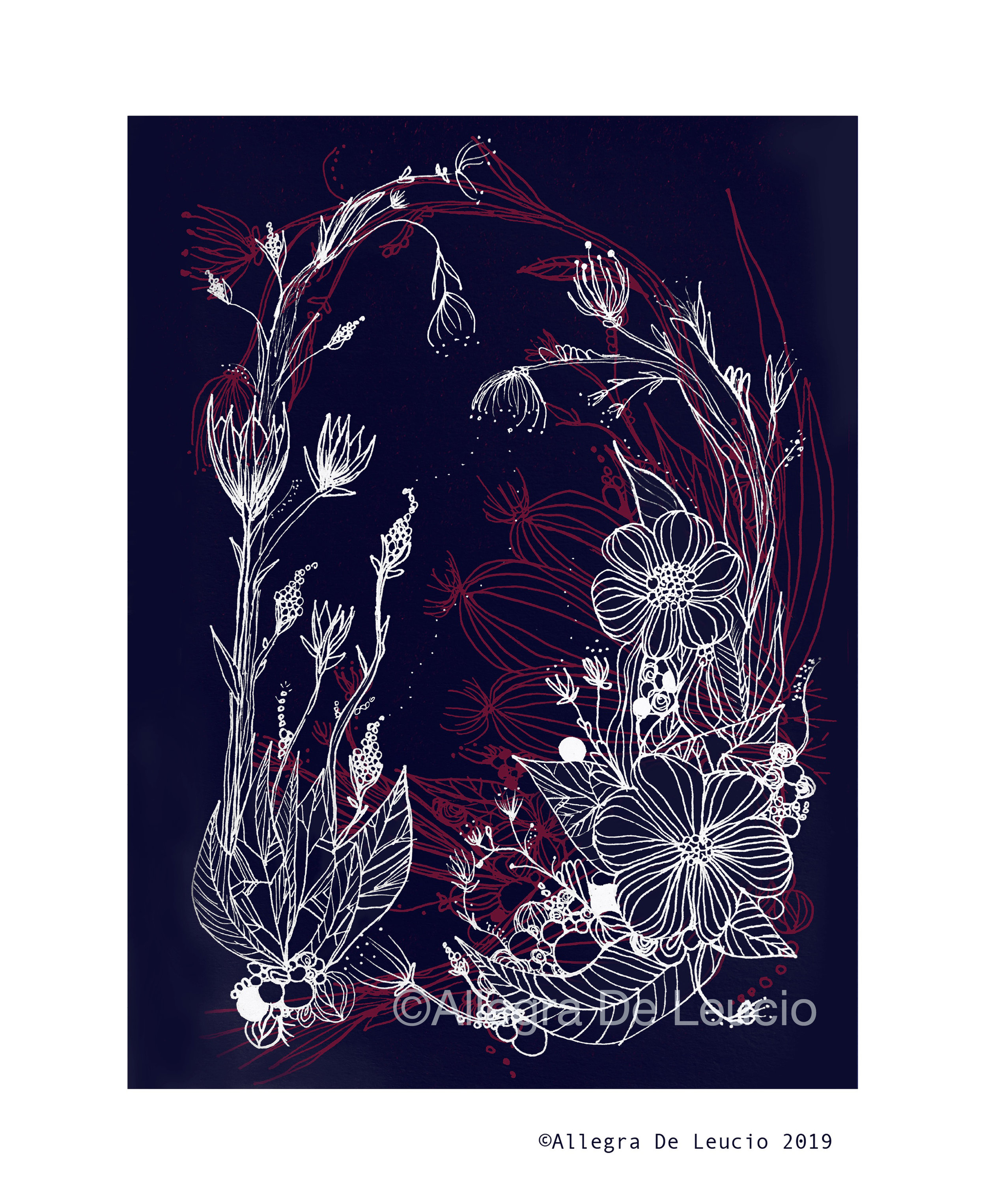 Botanical Tranquility - design #14