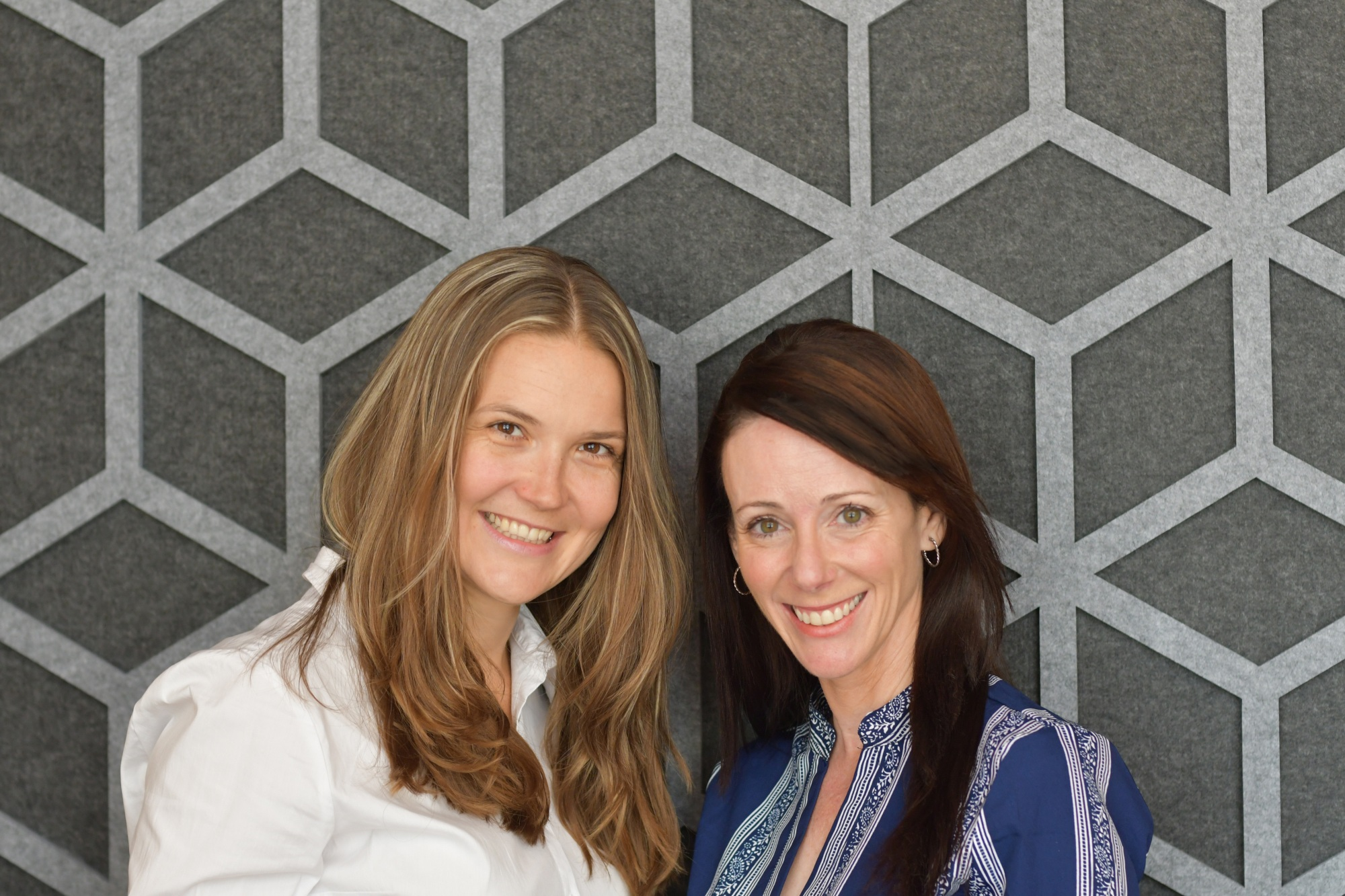 CNote co-founders Yuliya Tarasava (COO) and Catherine Berman (CEO)