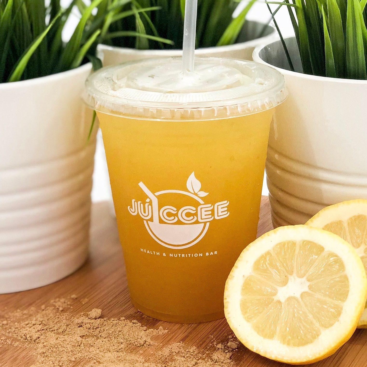 - HEART OF GOLDA citrus blend of juices with a dash of ginger to spice up your day.