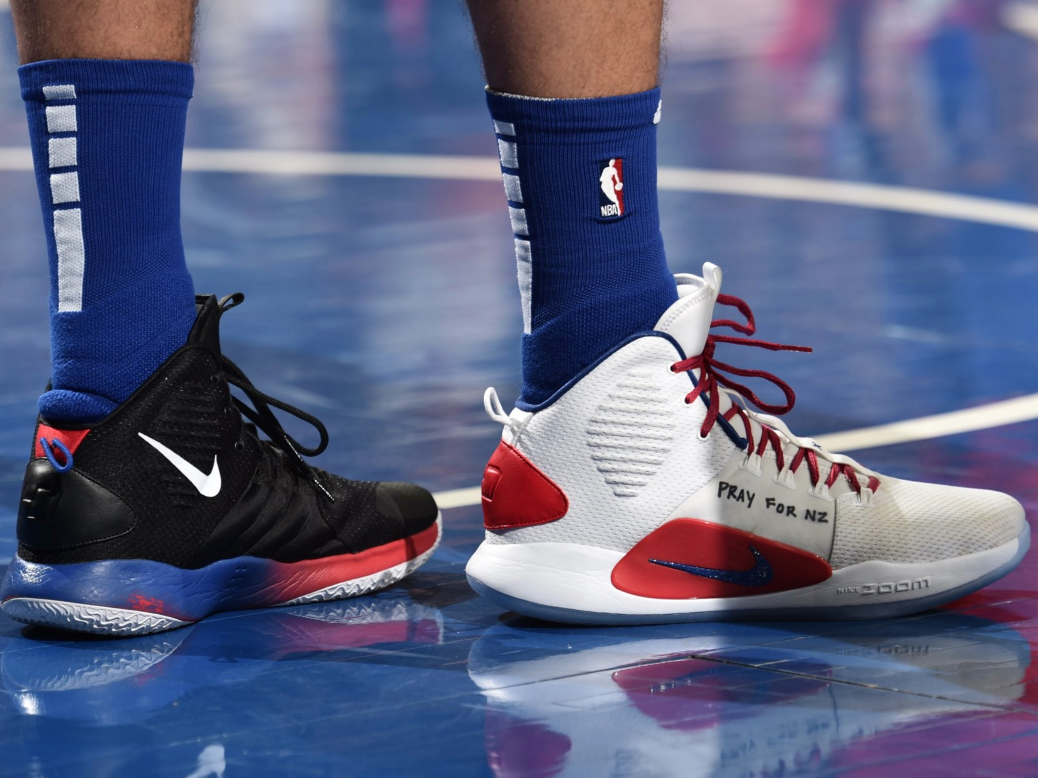 Ben Simmons Wears Nike Hyperdunk - Sacramento Kings vs. Philadelphia 76ers | March 15, 201918 Points5 Assists2 Rebounds1 Steal8-12 Shooting