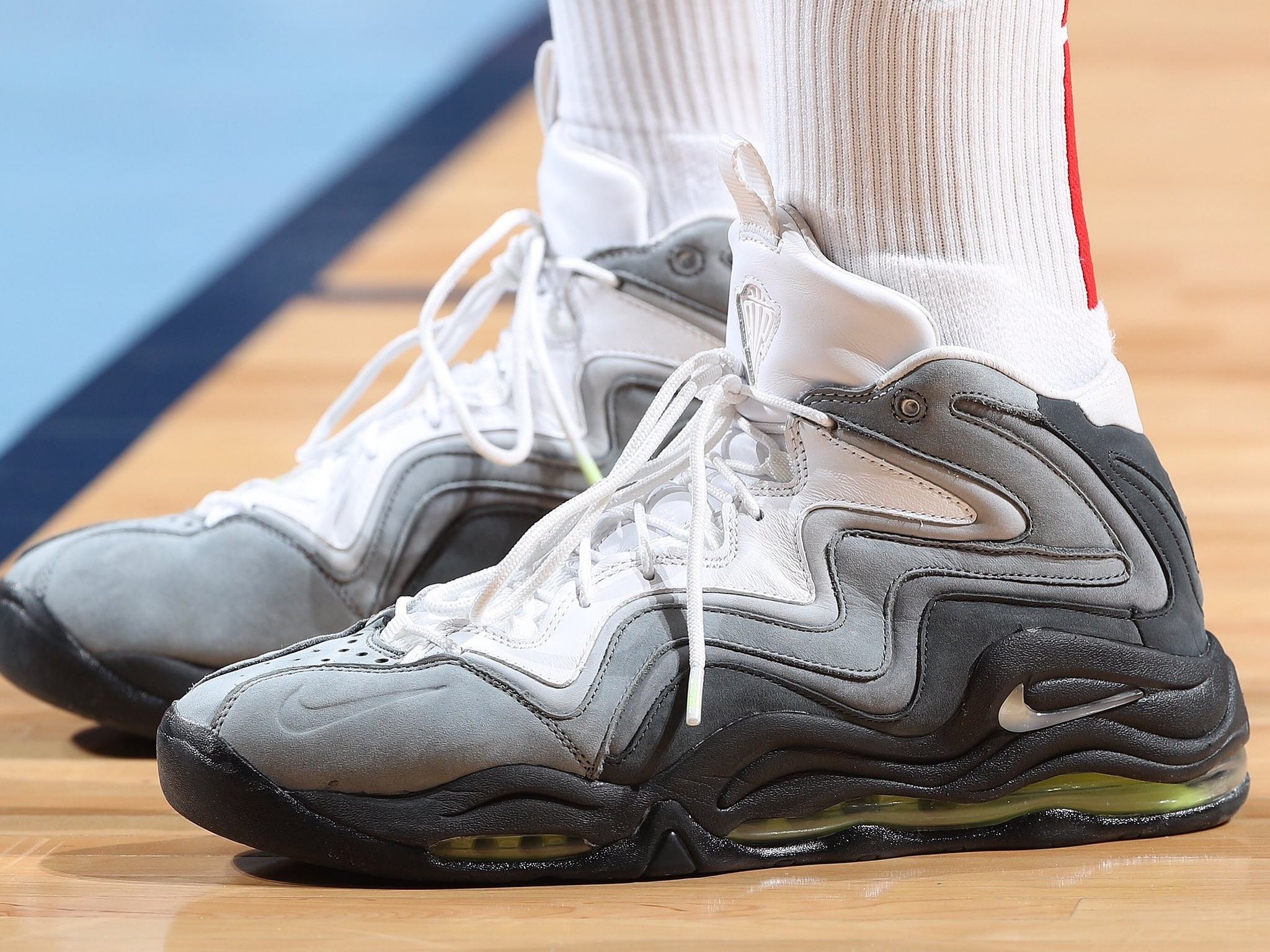 PJ Tucker with the KITH x Nike Air Pippen 1 -