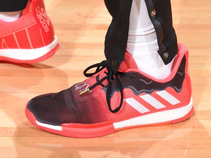 James Harden ties career high of 61 points in the Adidas Harden vol. 3 - Houston Rockets vs. San Antonio Spurs | March 22, 201961 Points1 Assists7 Rebounds3 Steals19-34 Shooting