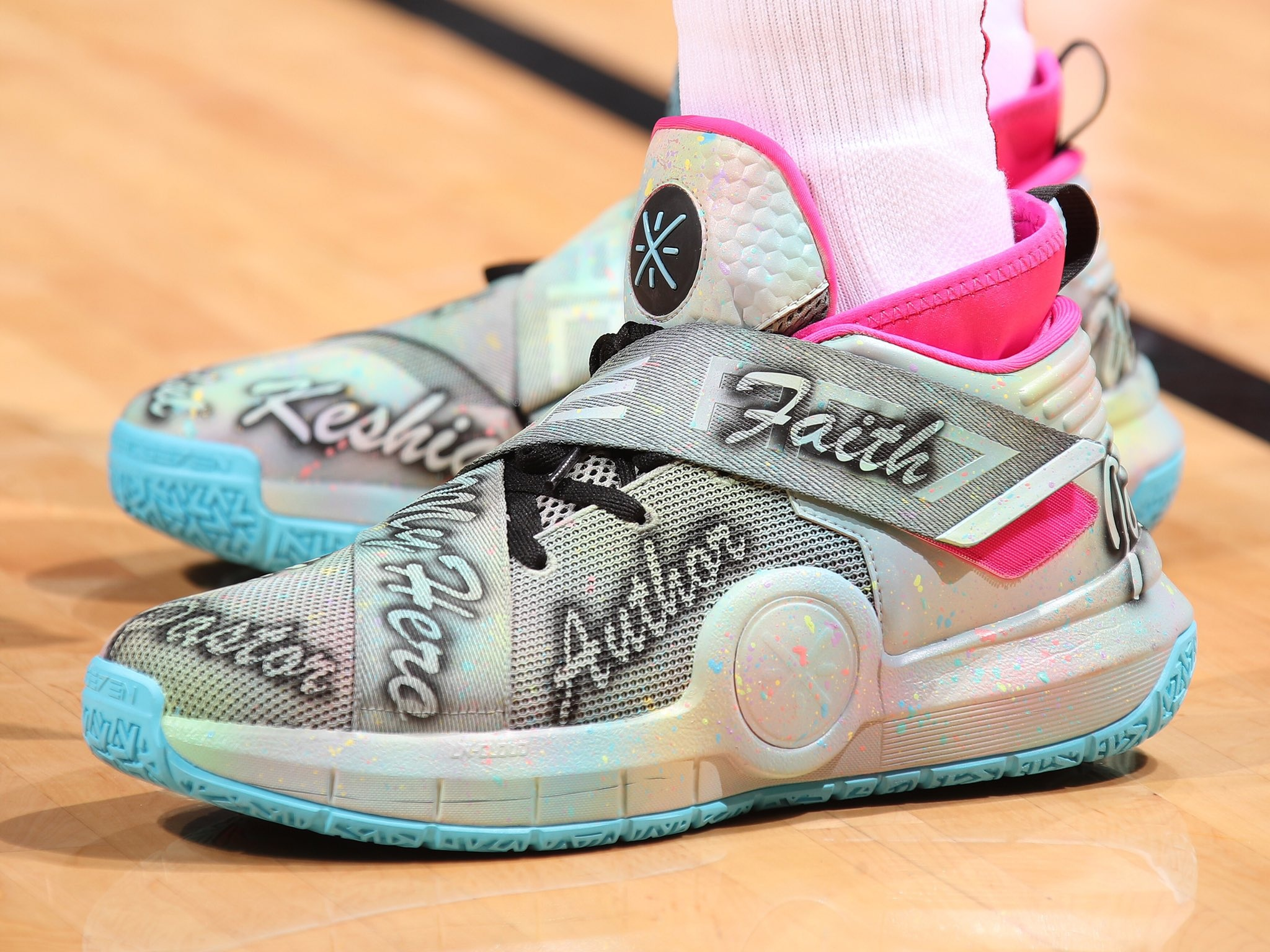 Dwyane Wade pays tribute to his mother with the Li-Ning Wade All City 7 Custom Colorway -