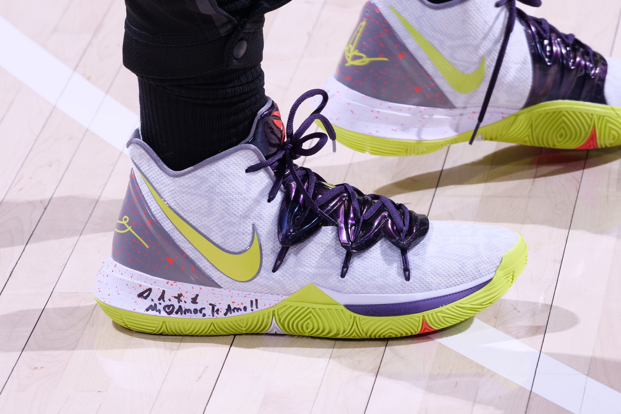 Kyrie Irving in the Mamba Mentality Nike Kyrie 5 - Boston Celtics vs. Indiana Pacers | April 5, 201917 Points6 Assists3 Rebounds7-14 Shooting