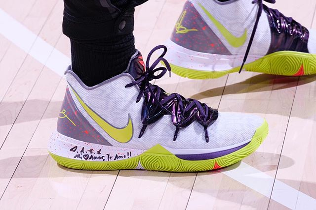 Kyrie Irving in the Mamba Mentality Nike Kyrie 5  Boston Celtics vs. Indiana Pacers | April 5, 2019  17 Points  6 Assists  3 Rebounds  7-14 Shooting
