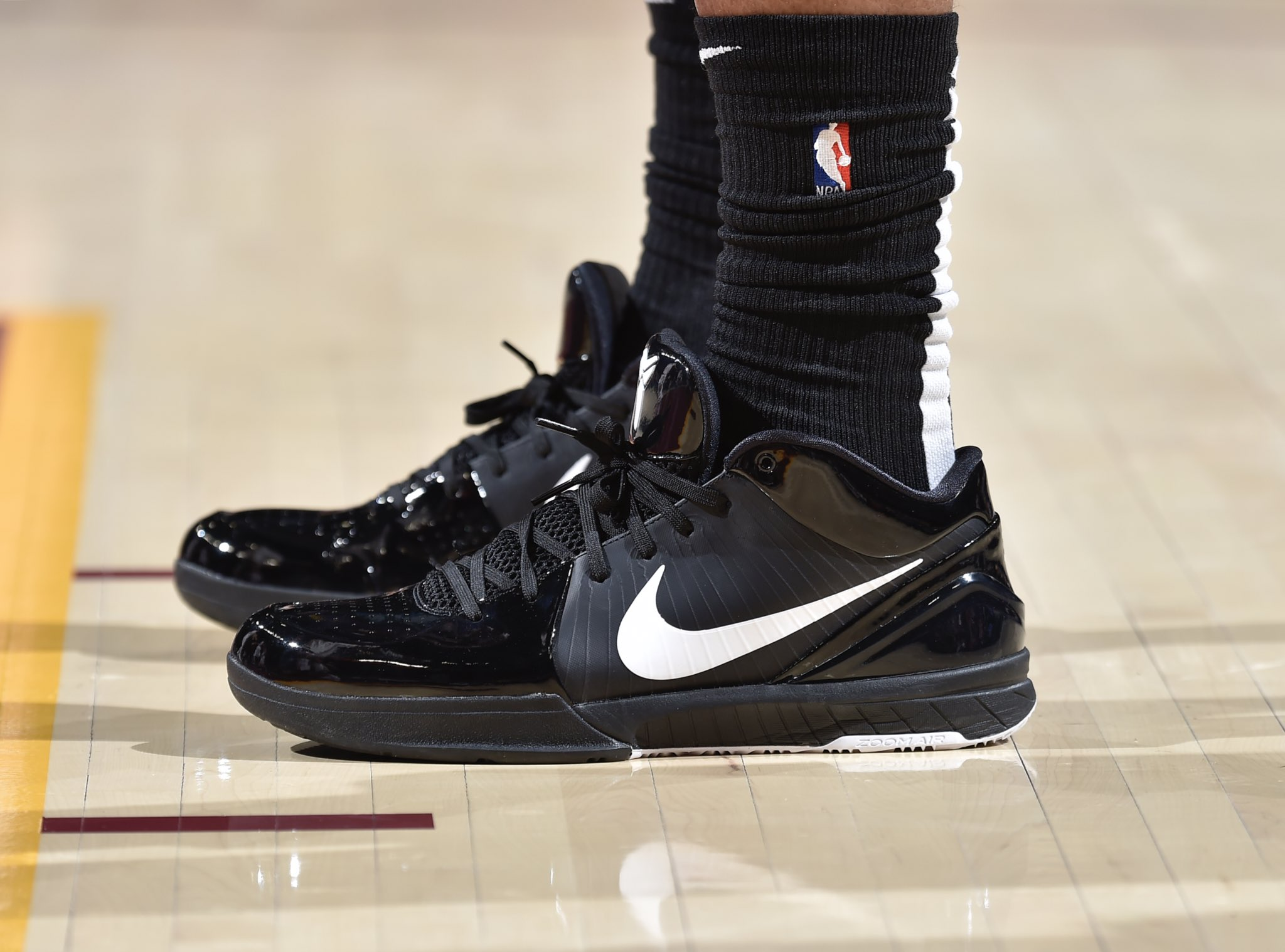 DeMar DeRozan in Nike Kobe 4 Protro - San Antonio Spurs vs. Cleveland Cavaliers | April 7, 201914 Points9 Assists3 Rebounds1 Steal4-9 Shooting
