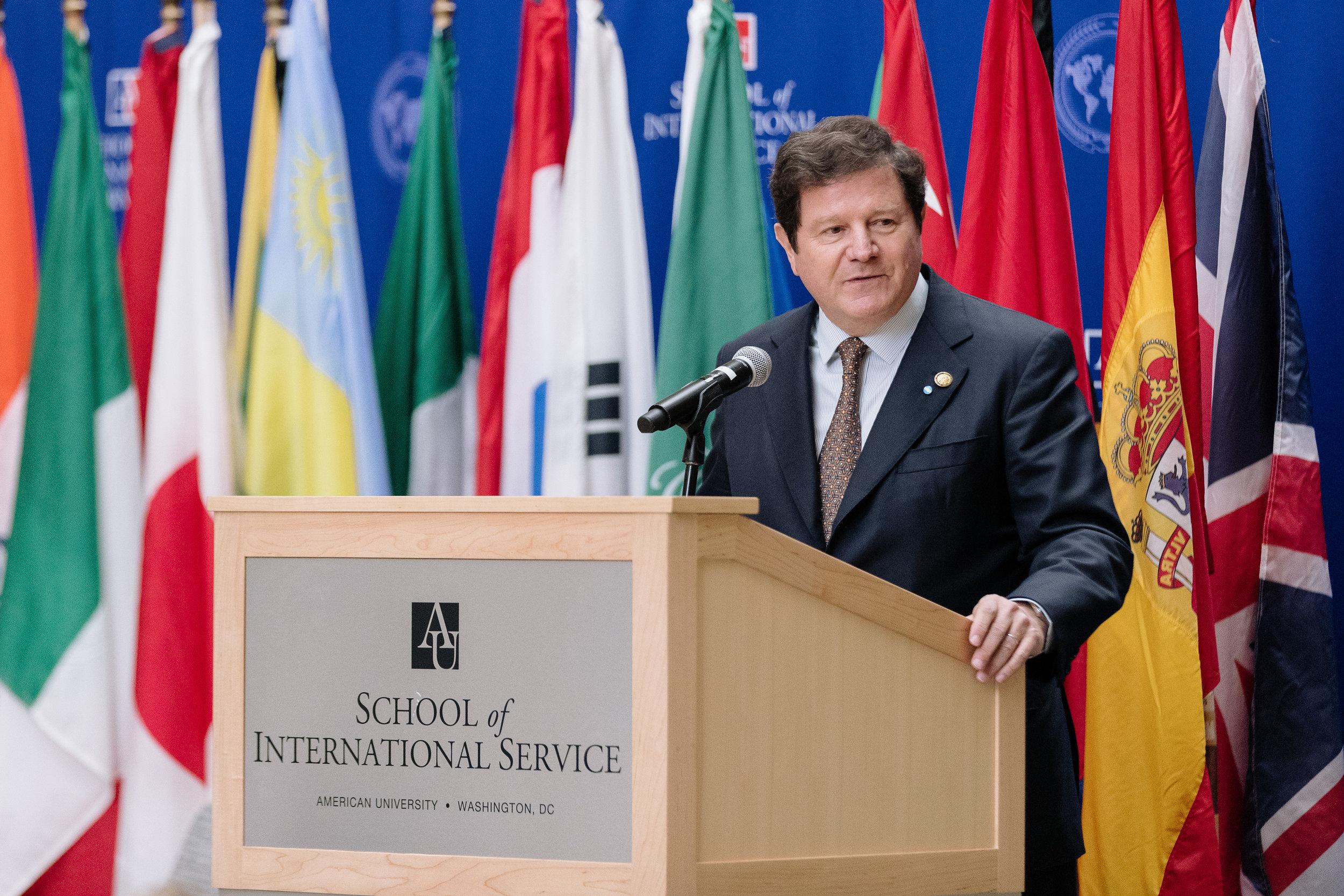 Fernando Oris De Roa, Argentine Ambassador to the US