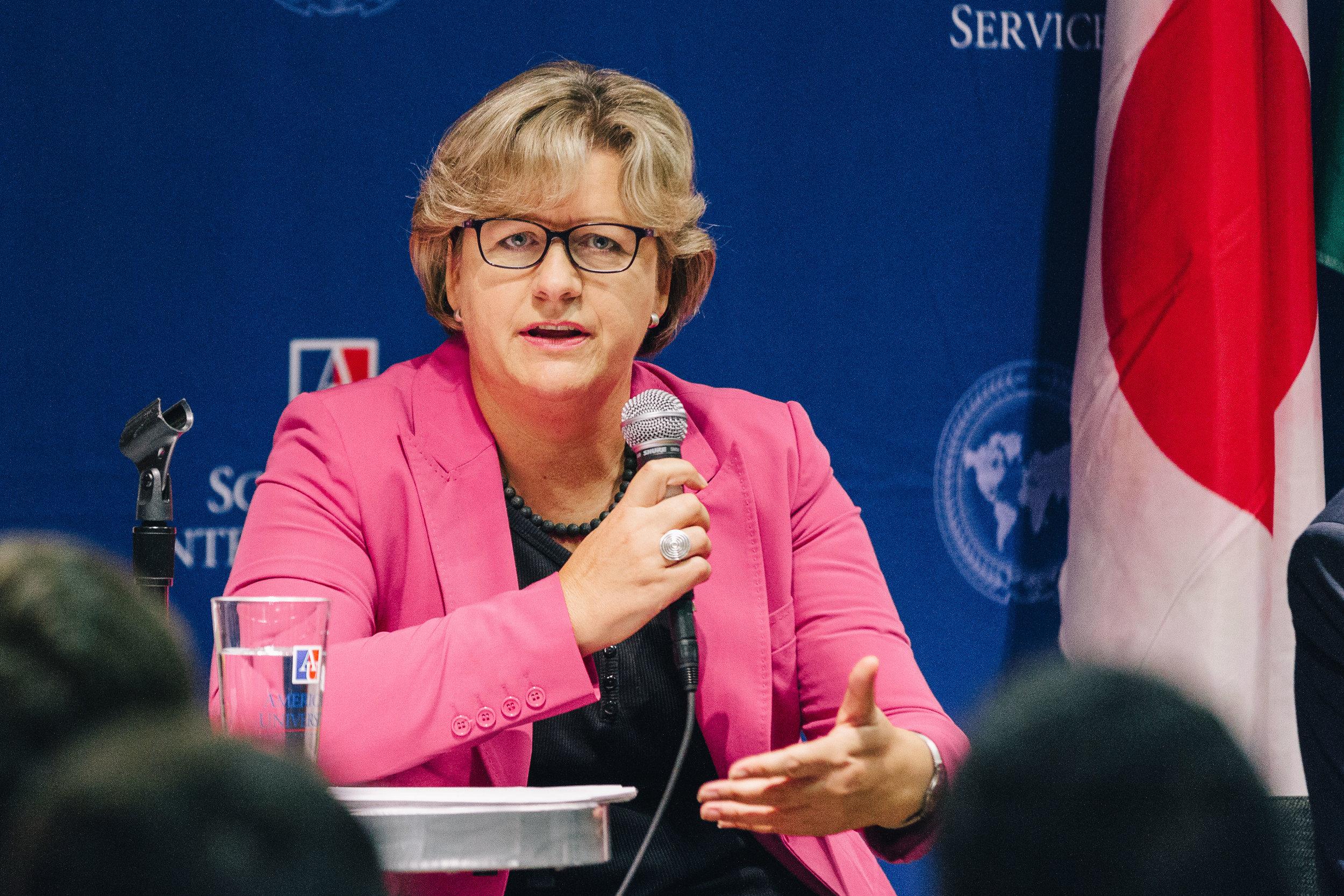 Elke Kallenbach, Head of Finance for Embassy of Germany