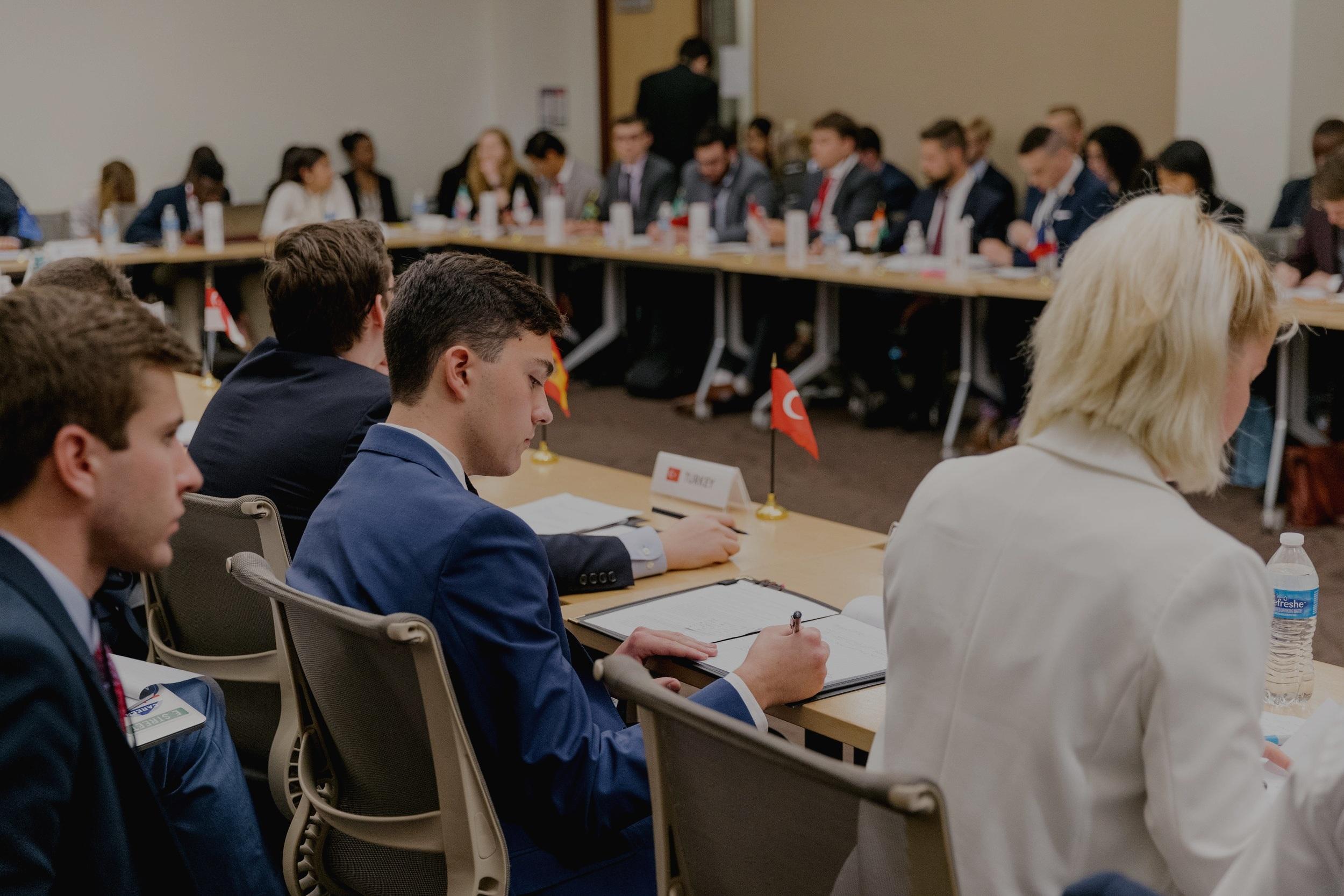 Finance Track - The 2019 topics will be:International Taxation & DigitizationRising DebtThe Future of Trade & WTO Reform