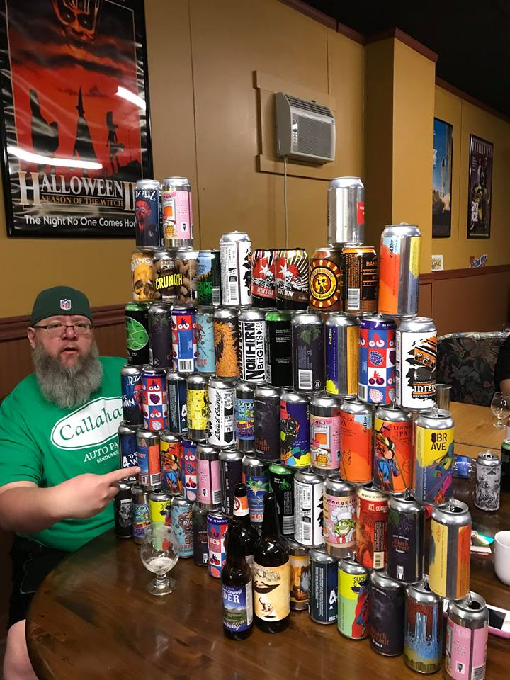 We have a lot of beer…most is ours, but occasionally we carry other PA breweries beers as well!