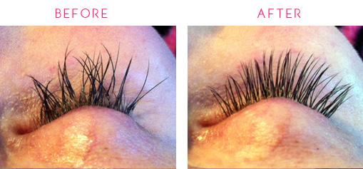 Eyelash extension correction