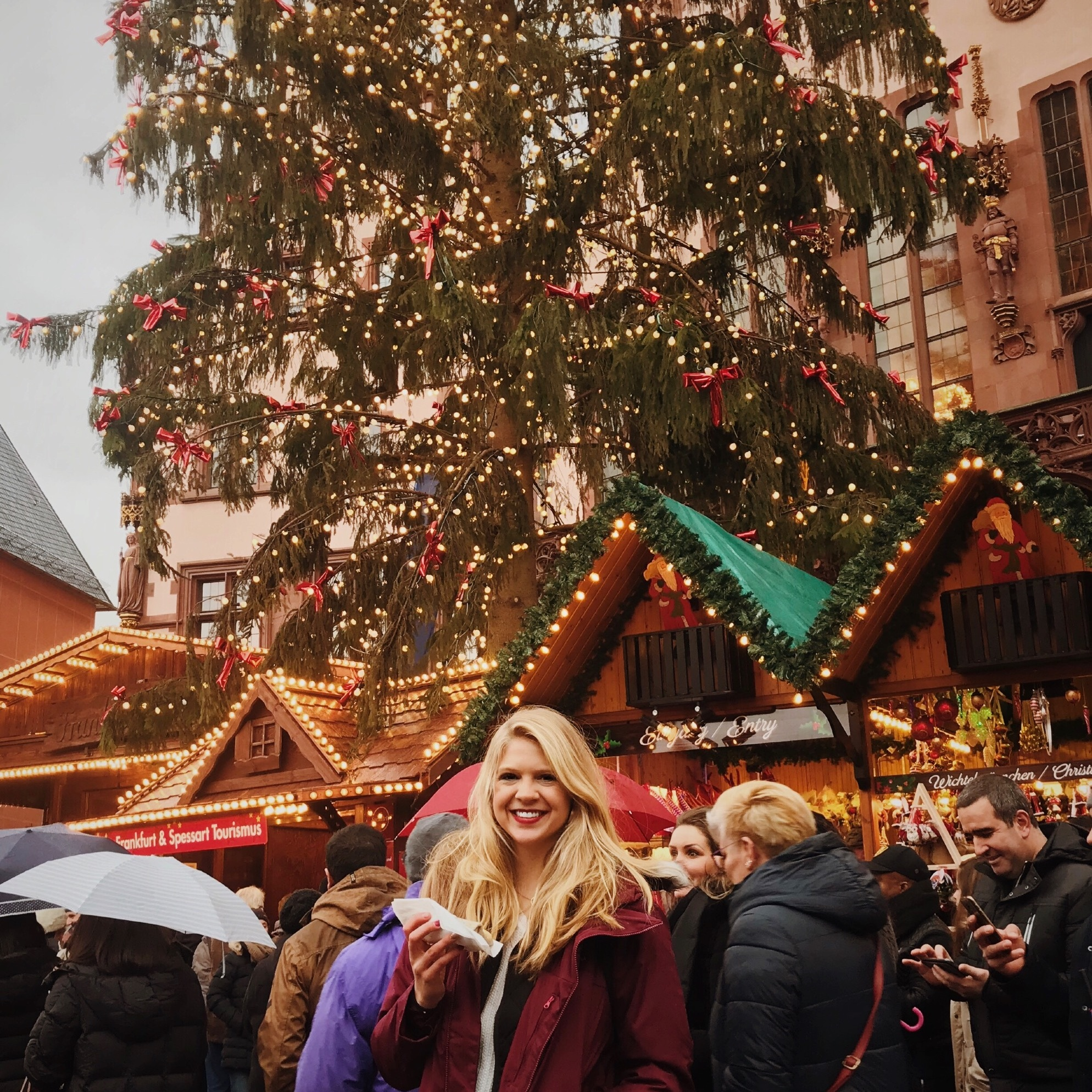 Visit a German Christmas Market -