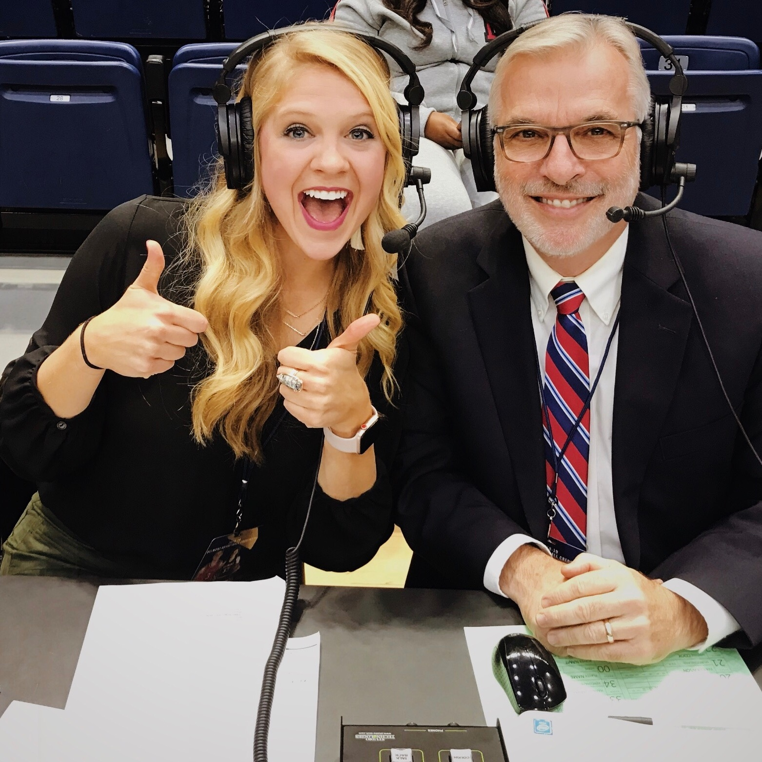 Color Commentate a Basketball game -