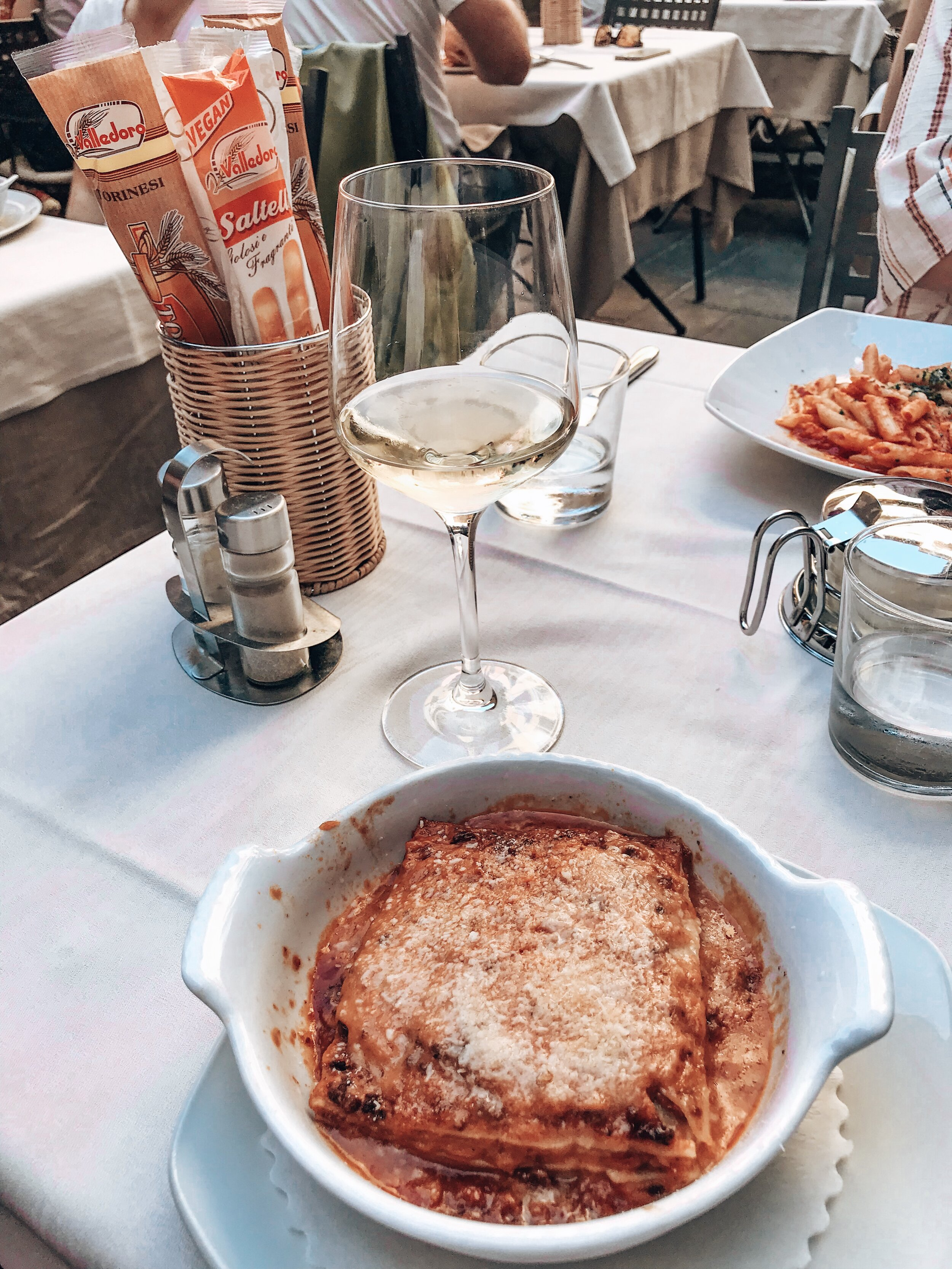 Grab Lunch at Antico Pozzo - We wandered around the streets going in and out of various restaurants until we finally found THE ONE. Antico Pozzo did NOT disappoint. I would highly recommend this restaurant for all your pizza, pasta and wine fix.