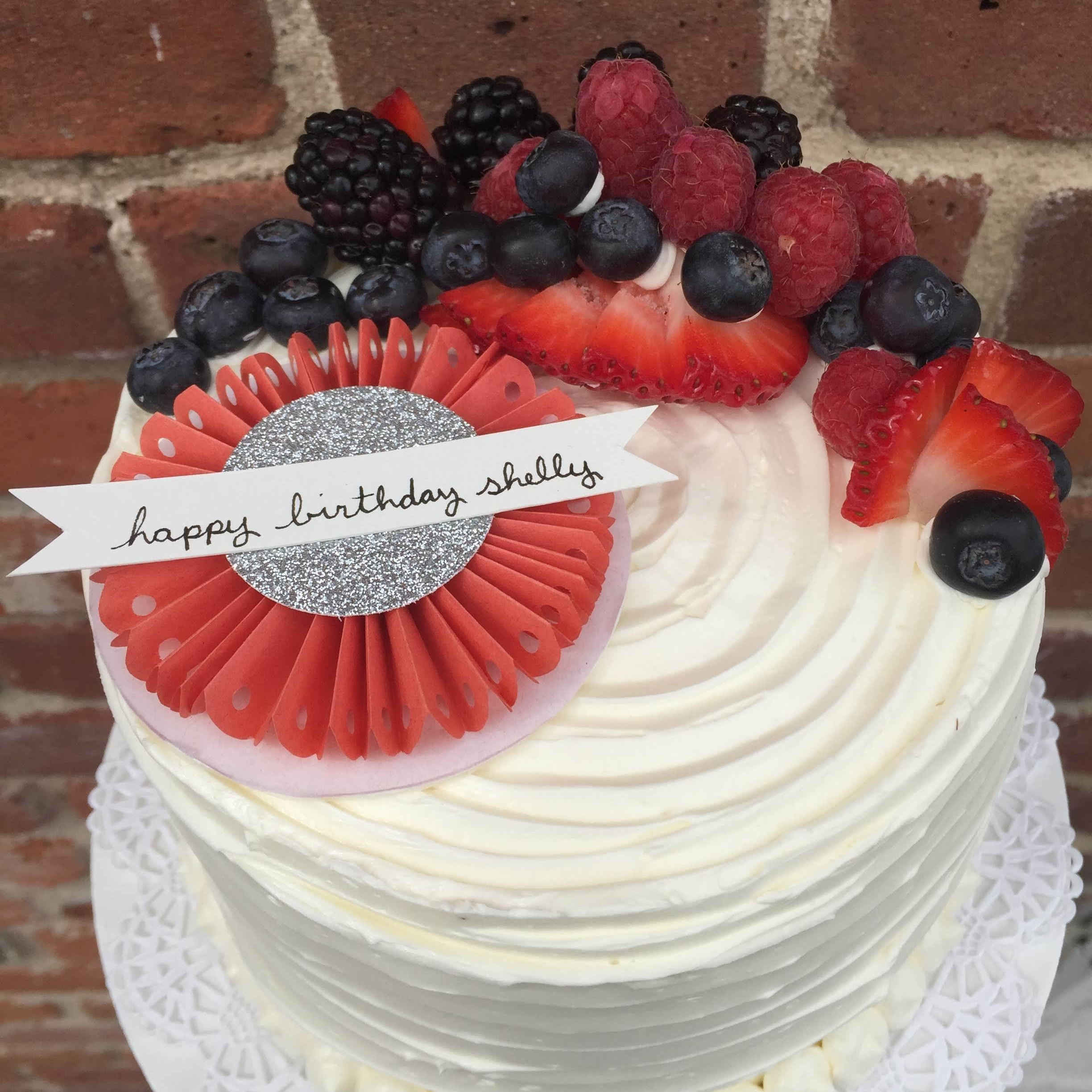 """Cakes - 8"""" & 10"""" layer cakeAssorted flavors by request"""