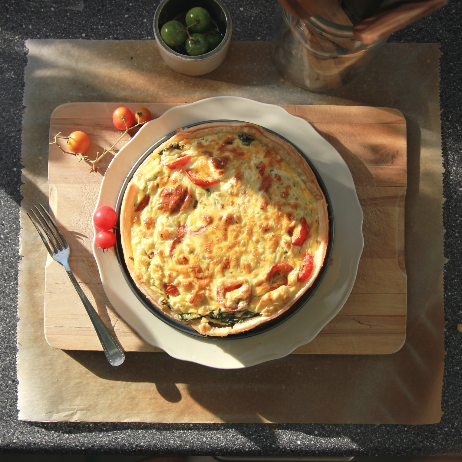 """Quiches - 9"""" savory quichesAssorted flavors by request"""