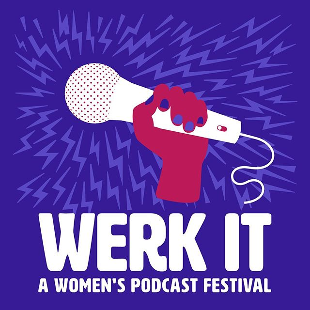 We are so, so, SO excited to be attending #werkitfestival in LA this October! What an opportunity to connect with other rad womxn and non-binary folks in podcasting and learn from the greats at @wnycstudios. 💯🎙 Let us know if you'll be there — we would love to meet you! . . . #relevantexperience #podcast #podcastlife