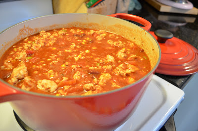 Healthy Turkey Chili is great for cold days. It makes a lot, and freezes nicely. From Scratch With Maria Provenzano