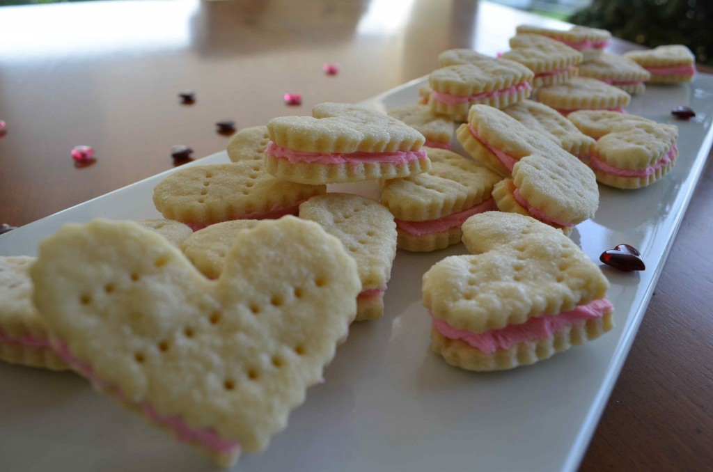 heart wafers