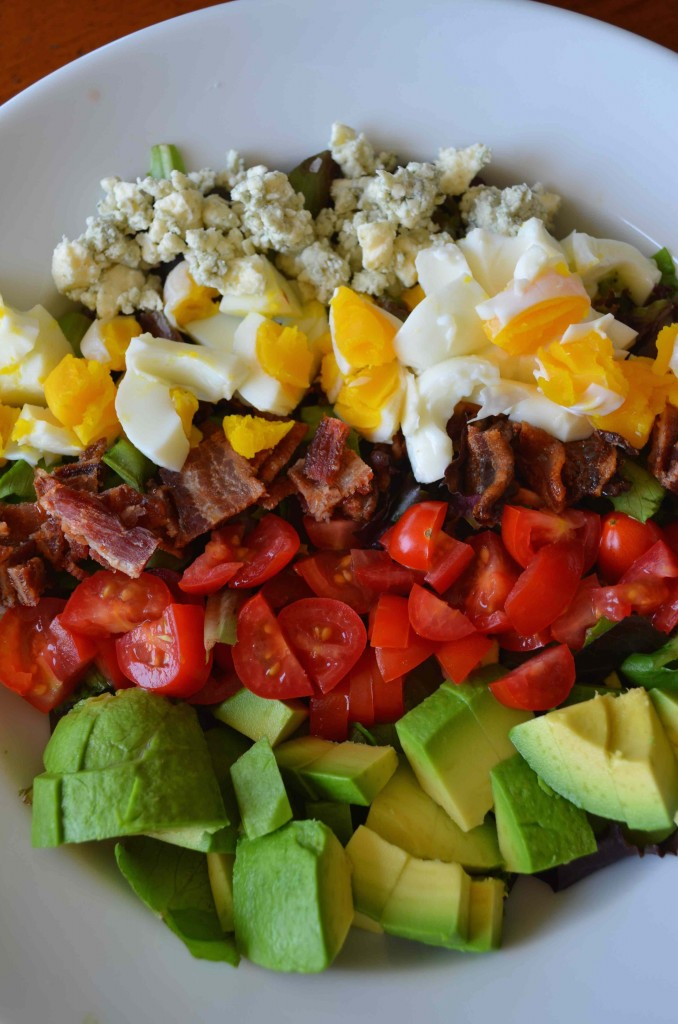 California Cobb With Sweet and Spicy Bacon