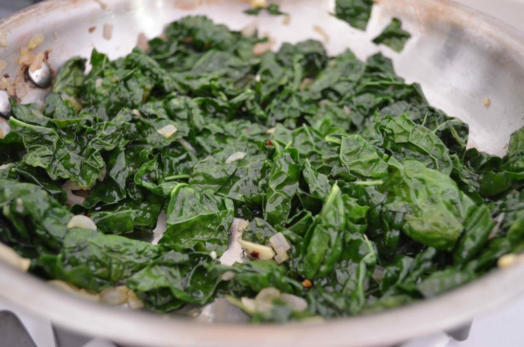ricotta kale