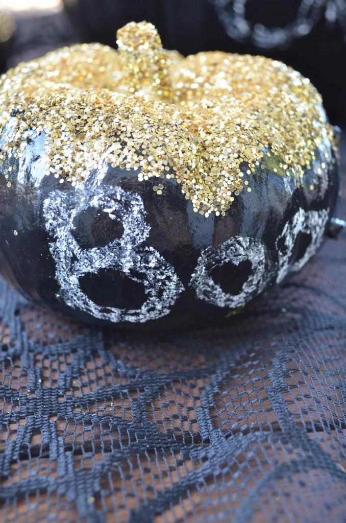 glitter pumpkin 3