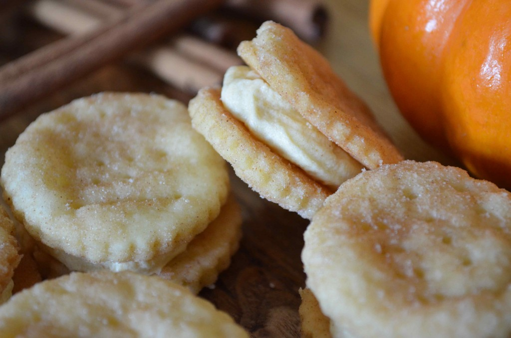 spiced cream wafers