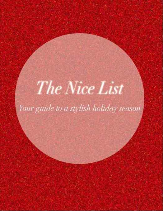 The Nice List Maria Provenzano