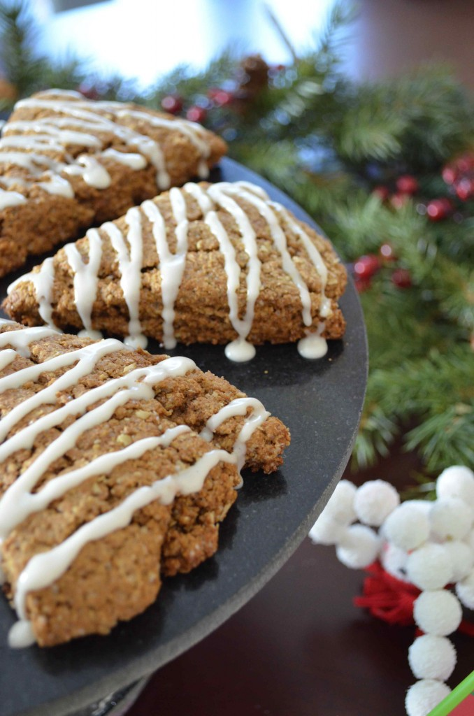 gingerbread scones 5