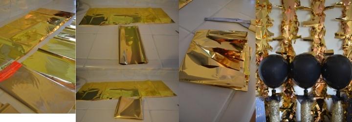 gold garland