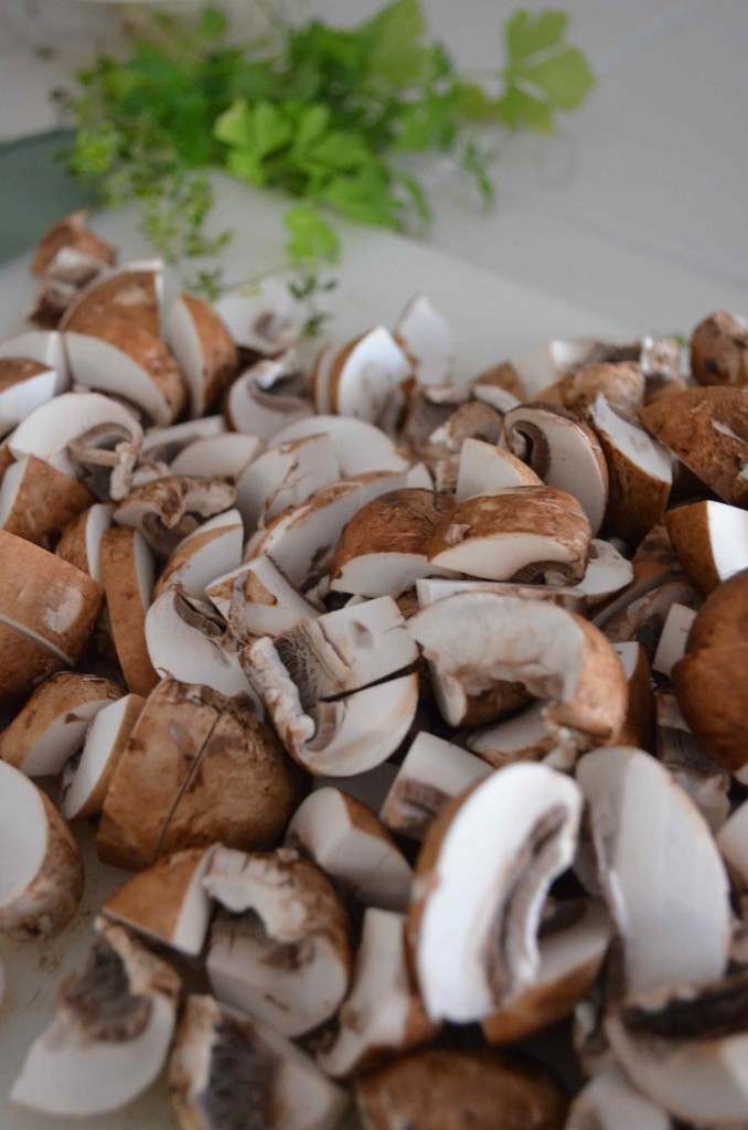 mushroom and beans