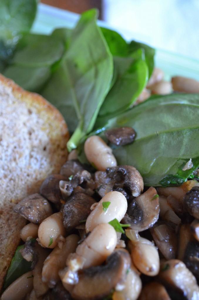 mushroom beans