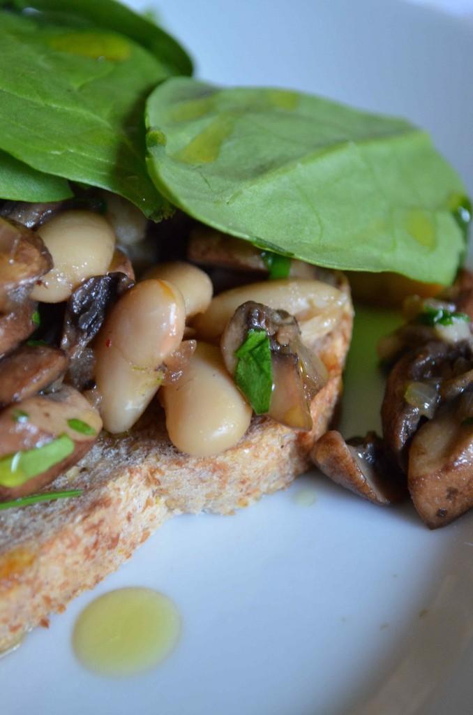 mushroom beans maria provenzano