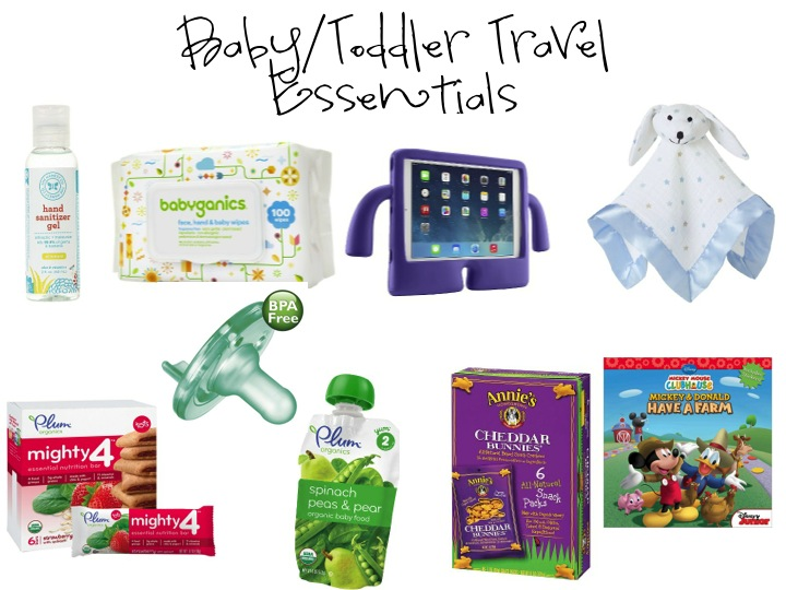 baby/toddler travel