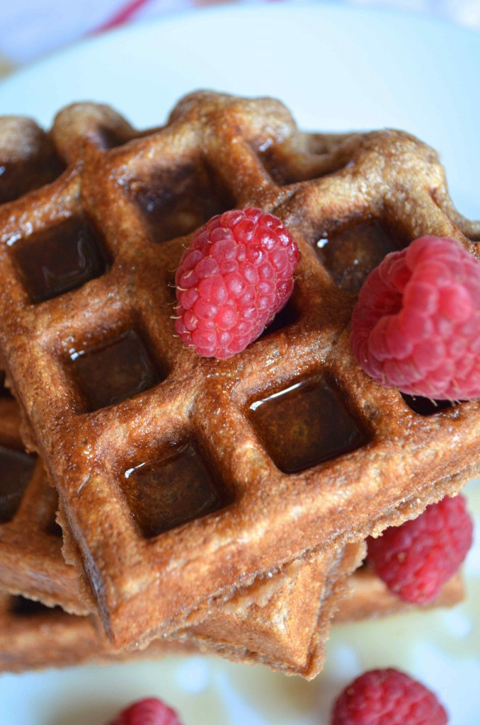 chocolate milk waffles 4