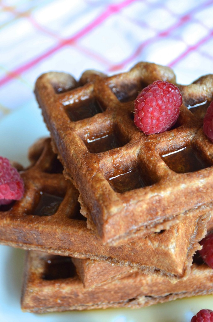 chocolate milk waffles 5